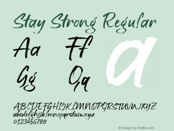 Stay Strong Regular Version 1.000图片样张