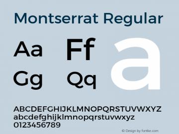 Montserrat Version 1.000;PS 002.000;hotconv 1.0.70;makeotf.lib2.5.58329 DEVELOPMENT; ttfautohint (v1.4.1)图片样张