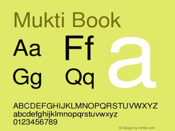 Mukti Book Version 1.99 January 26,2006图片样张