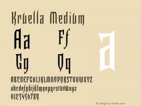Kruella Medium 001.000图片样张