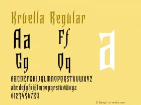 Kruella Regular 001.000图片样张