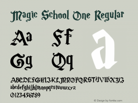 Magic School One Regular 5/30/2004图片样张