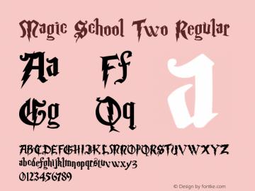 Magic School Two Regular 5/30/2004图片样张