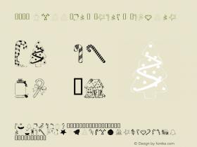 101! HollYDaY TreatZ Regular Macromedia Fontographer 4.1 12/2/02 Font Sample