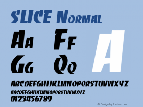 SLICE Normal (C)1992  Attitude, Inc.All Rights Reserved图片样张