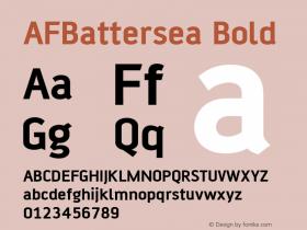 AFBattersea Bold Version 001.000图片样张