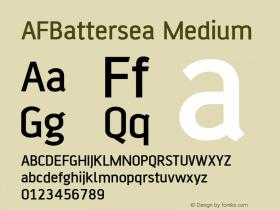 AFBattersea Medium Version 001.000图片样张