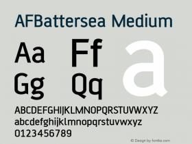 AFBattersea Medium Version 1.00图片样张