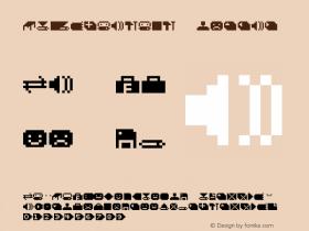 DS SysBatBit Regular Macromedia Fontographer 4.1 22.10.2001 Font Sample