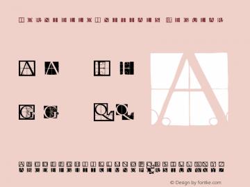 TornielloInitials Regular 1.0 2004-06-17 Font Sample