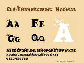 Clb:Thanksgiving Normal 1.0 Wed Oct 04 10:02:36 1995图片样张
