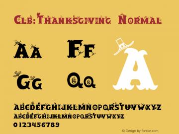Clb:Thanksgiving Normal 1.0 Wed Oct 04 10:02:36 1995图片样张