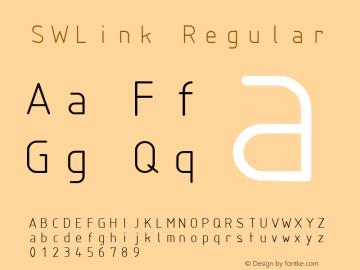 SWLink Regular Macromedia Fontographer 4.1 09/13/01图片样张
