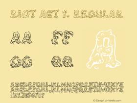 Riot Act 2 Regular Version 3.100 2004 Font Sample