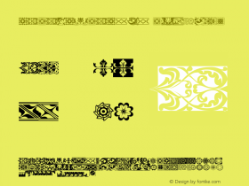 SARA-SERASILI Regular Macromedia Fontographer 4.1 8/6/00 Font Sample