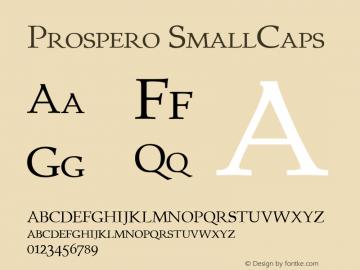 Prospero SmallCaps 1.0 Mon Sep 12 00:12:42 1994图片样张