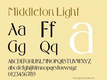 Middleton Light Version 001.000图片样张