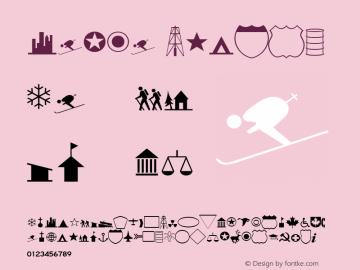 Carta Medium Version 001.001 Font Sample