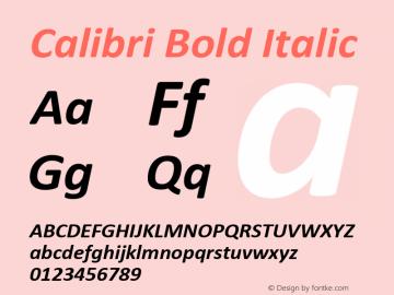 Calibri Font,Calibri Bold Italic Font,Calibri-BoldItalic