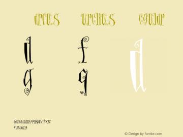 MarcusAurelius Regular Version 001.000 Font Sample