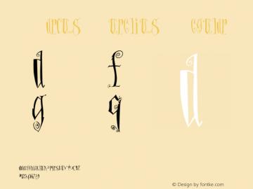 MarcusAurelius Regular 001.000 Font Sample