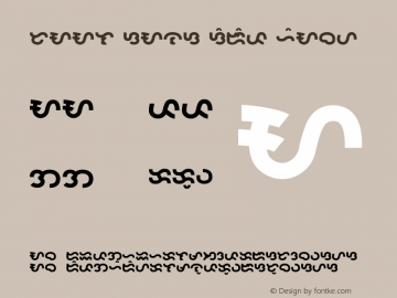 Taal Sans Serif Heavy Version 1.000 2007 initial release Font Sample