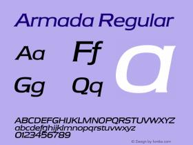 Armada Regular Version 1.00图片样张