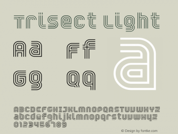 Trisect Light version 1.00图片样张