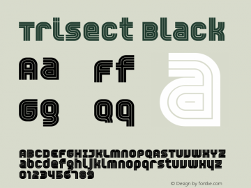 Trisect Black version 1.00图片样张