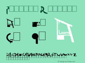Painter Regular Version 1.00 July 26, 2010, initial release Font Sample