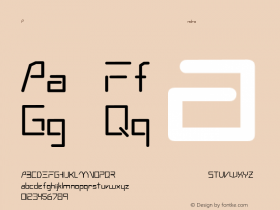 Andromeda Regular Converted from C:\WINDOWS\FONTS\ANDRMEDA.TF1 by ALLTYPE Font Sample