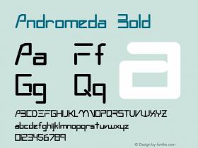 Andromeda Bold Altsys Fontographer 3.5  3/4/93 Font Sample
