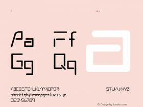 Andromeda Regular Converted from C:\TRUETYPE\ANDRMEDA.TF1 by ALLTYPE Font Sample