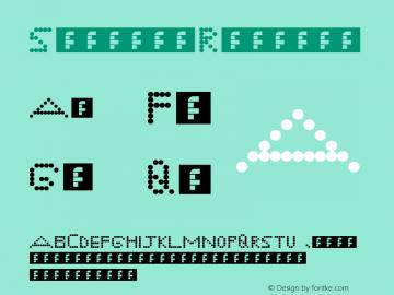 Symbols Regular Version 1.0图片样张