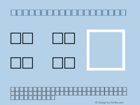 MD_Jadid_18 Regular Glyph Systems 10-jun-93 Font Sample