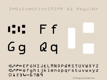 IDAutomationSMICR W1 Regular Version 6.08 2006图片样张