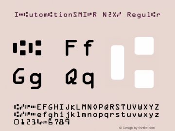 IDAutomationSMICR N2XB Regular Version 6.08 2006图片样张