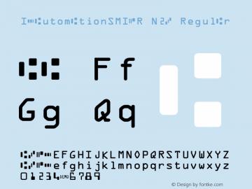 IDAutomationSMICR N2B Regular Version 6.08 2006图片样张