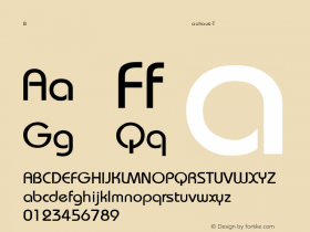 Bauhaus-Thin Regular Converted from C:\UP\BAUTHIN.TF1 by ALLTYPE Font Sample