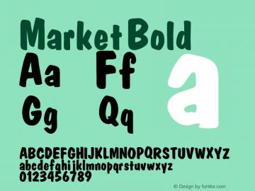 Market Bold Altsys Fontographer 3.5  3/16/92 Font Sample