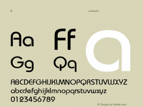 Bauhaus-Thin Regular Converted from C:\WIN\SYSTEM\ST000068.TF1 by ALLTYPE Font Sample