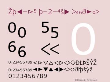 Zwo-LF w-2-Exp Regular 4.313 Font Sample