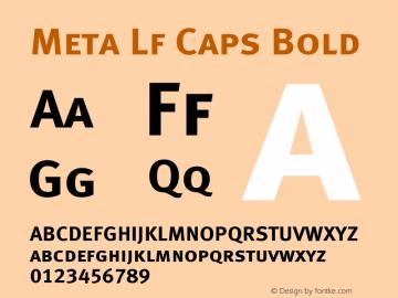 Meta Lf Caps Bold 004.301图片样张