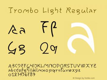 Trombo Light Regular 001.000图片样张
