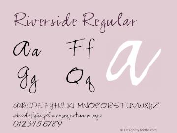 Riverside Regular Altsys Fontographer 3.5  7/6/93 Font Sample