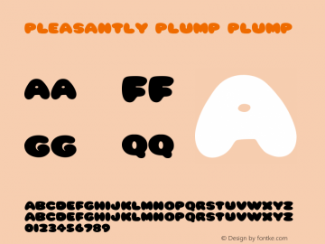 Pleasantly Plump Plump Version 1.0 Tue Jan 11 18:43图片样张