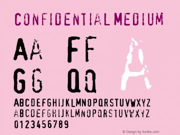 Confidential Medium Version 001.000图片样张