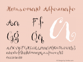 Housemaid Alternate Version 001.000 Font Sample