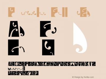 Psychedelic FillmoreEast Version 001.000 Font Sample