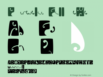 Psychedelic FillmoreWest Version 001.000 Font Sample